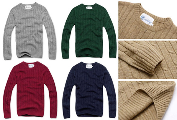 素面羅紋毛衣能表現成熟感