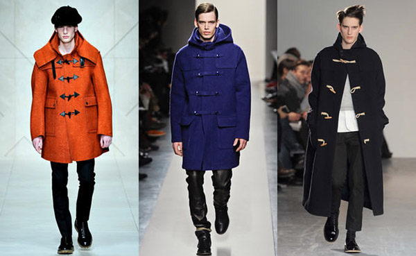 Duffle Coat 在今年躍升時尚伸展台主角