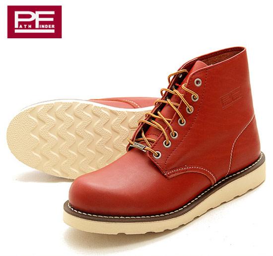 PathFinder復刻款圓頭工作靴