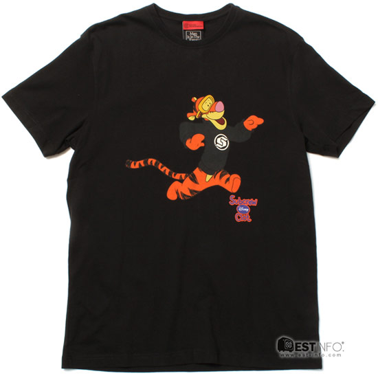 CLOT x DISNEY x Subcrew三方聯名跳跳虎T恤