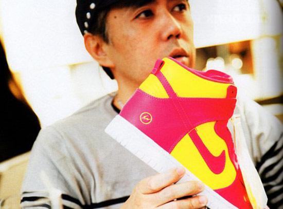 藤原浩多次為NIKE設計的限量鞋款,絕對都是潮迷的熱門話題