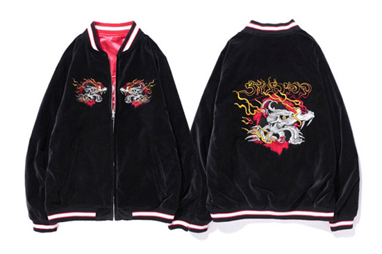 NY Dragon Souvenir Reversible Jacket