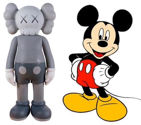 變成骷髏頭的米老鼠,是不是更有趣了呢?