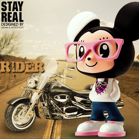 STAYREAL Wind Rider Mouse 小鼠公仔- 風狂小鼠