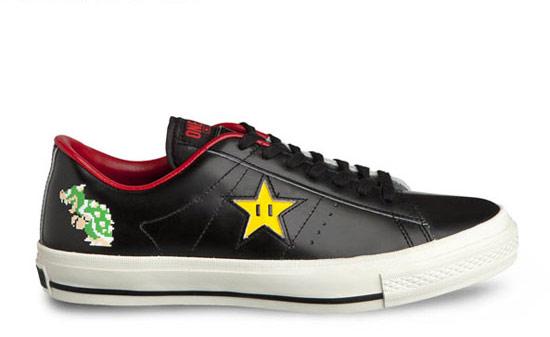 Converse Mario One Star 聯名球鞋
