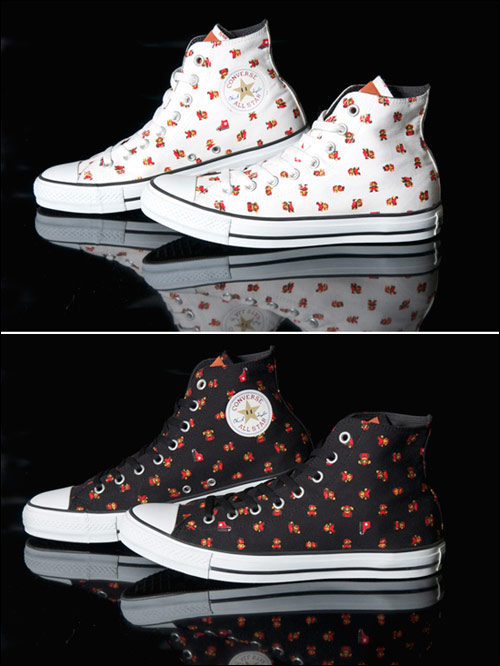Converse Mario All Star 25週年 聯名球鞋