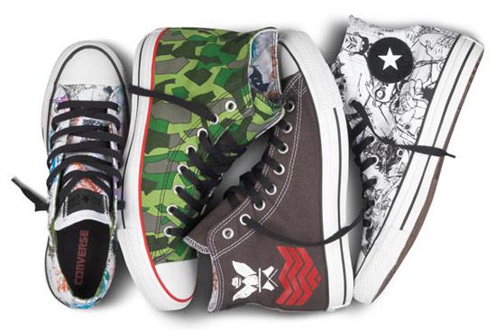 CONVERSE x Gorillaz Chuck Taylor All Star限量聯名球鞋