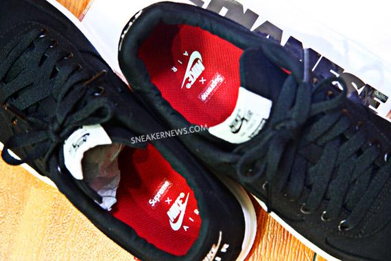 Supreme x Nike Air Force 1 鞋墊聯名LOGO