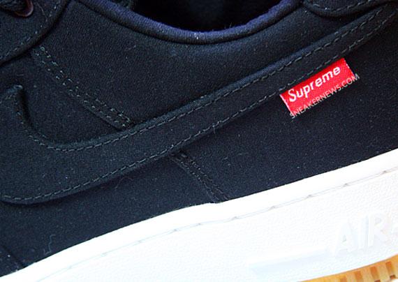 Supreme x Nike Air Force 1 紅標