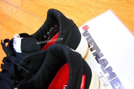 Supreme x Nike Air Force 1 實品照片