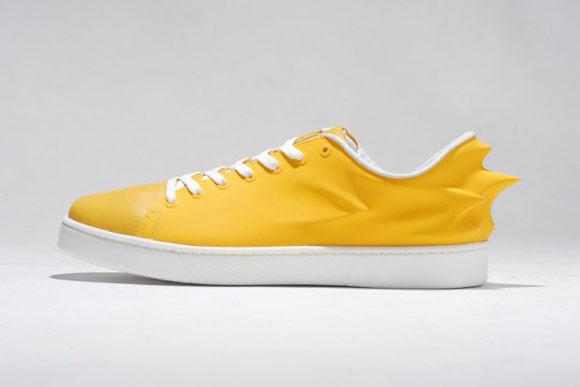 HUSSEIN CHALAYAN X PUMA URBAN SWIFT 黃鞋身