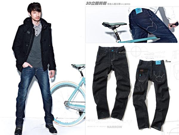 EDWIN,牛窄褲,周湯豪代言,愛德恩,E-function,503 Narrow