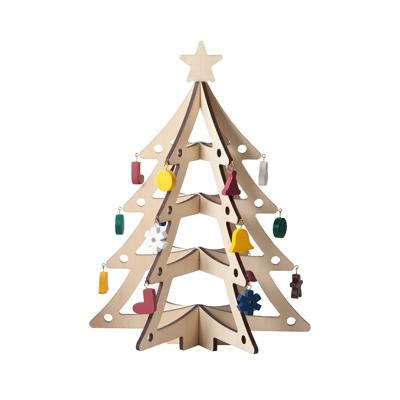 【MUJI無印良品】木製裝飾聖誕樹/大