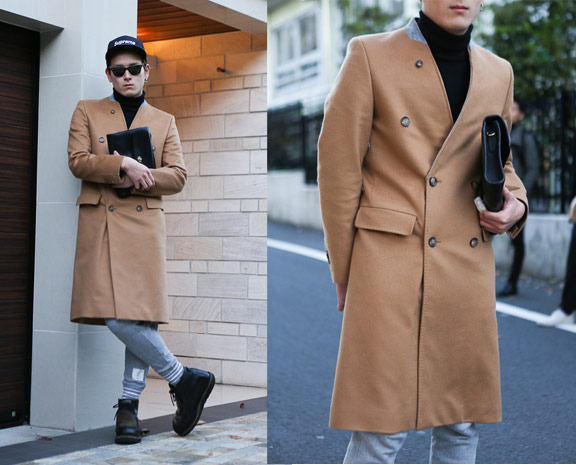 羊毛長大衣,喀什米爾大衣,雙排扣大衣,風衣外套,長版外套