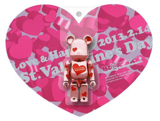 情人節禮物,情人節約會,送女友禮物,情人節限定,Bearbrick 2013