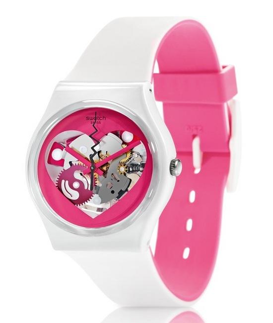 情人節禮物,情人節約會,送女友禮物,情人節限定,Swatch情人節限定錶