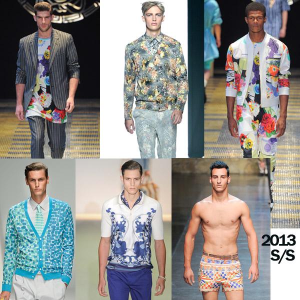 2013春夏時尚, 春夏聯名款, 碎花, 滿版碎花