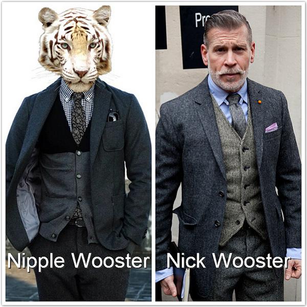 Nick Wooster,秋冬男裝,全球最會穿,男裝穿搭,日本ZIP