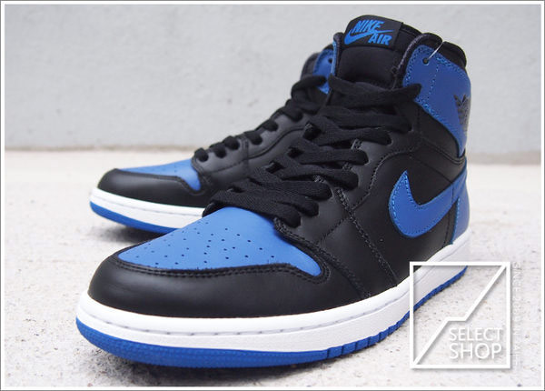 ☆HAru☆ Nike AIR JORDAN 1 HIGH OG Royal Blue AJ AJ1 I Kanye West 一代 黑藍 原版 經典復刻