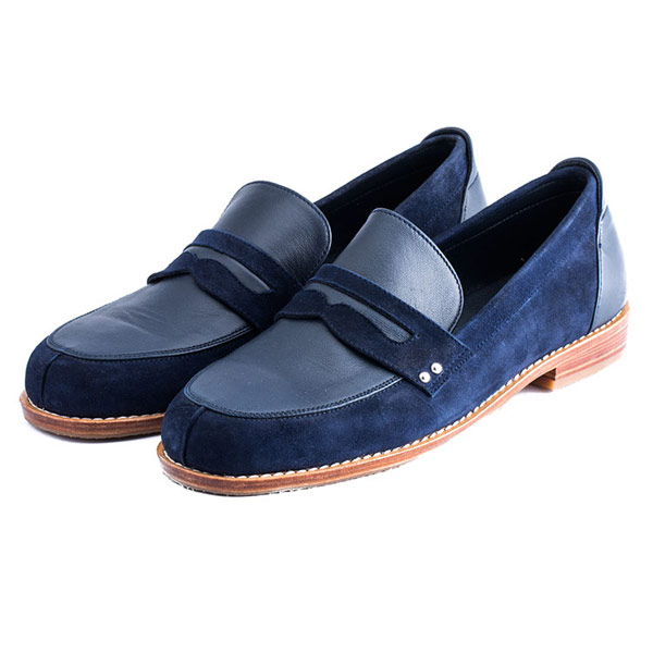 【Extinct】2 TONE LOAFER 藍