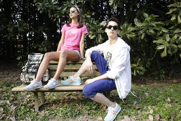 ▲New Balance ML574陽光海岸系列復古鞋。(圖/擷自New Balance官方臉書)