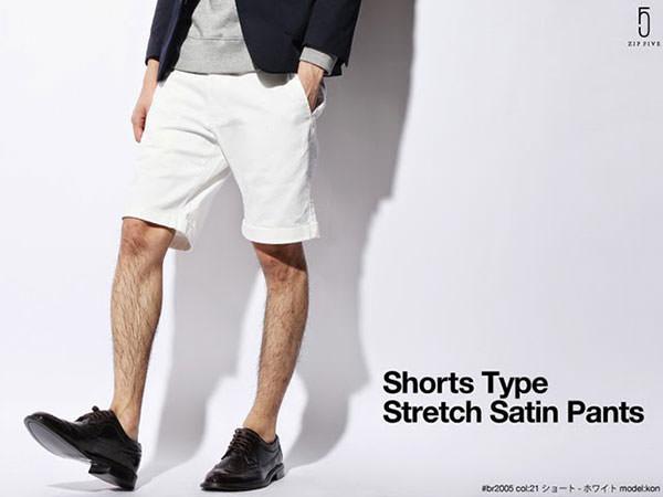 五分短褲,時尚短褲,度假風格短褲,印花短褲,反摺短褲
