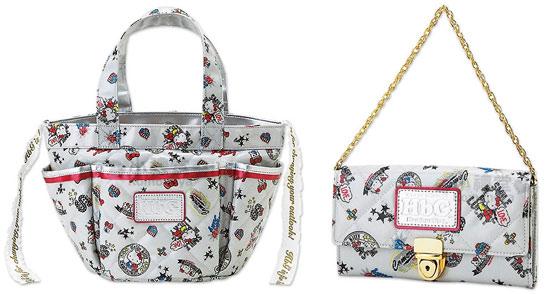 HbG × HELLO KITTY三麗鷗50週年聯名手提袋/長皮夾