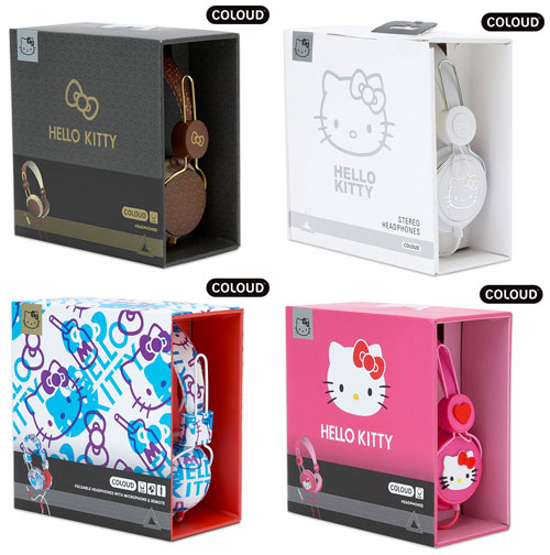 【Coloud】HELLO KITTY Graphic系列耳罩式耳機