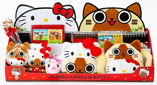 AIROU×HELLO KITTY系列2011年新周邊商品。