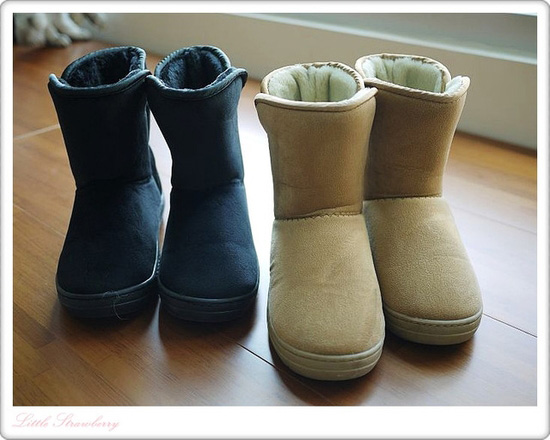 短雪靴我居然一口氣就挑了兩個顏色