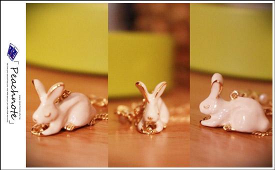 兔子的模樣活靈活現非常可愛