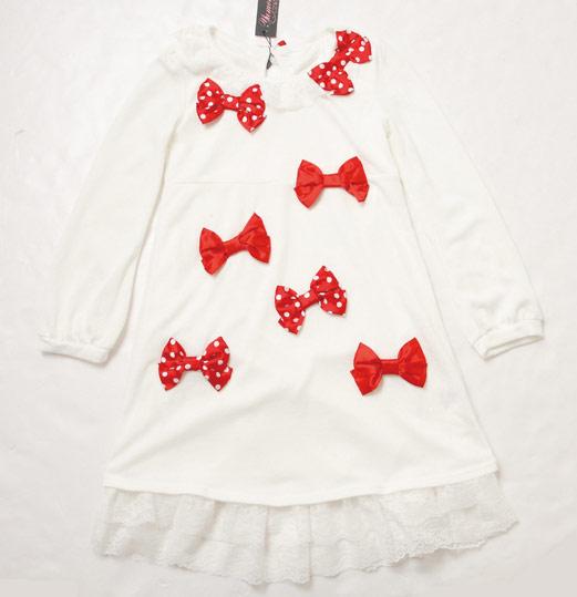充滿存在感的蝴蝶結裝飾,宛如聖誕禮物一般可愛!