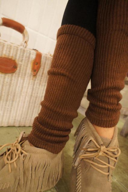 襪子拼接的部分可以拉成蓬蓬的感覺,更顯瘦唷~