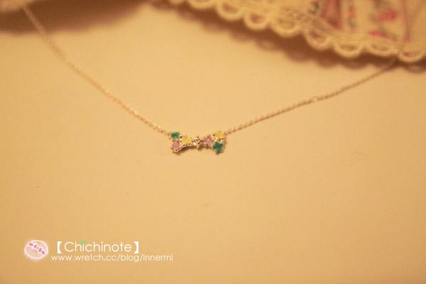 顏色超級粉嫩的一款小項鍊!!!!裝淑女必備款(?)