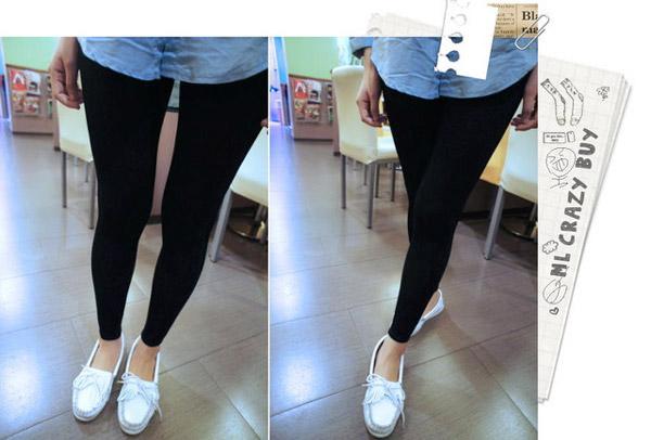 SRTEET LOOK 超級顯瘦九分褲-Stripe