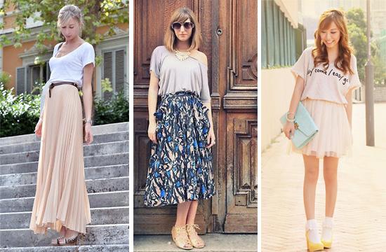 T恤,女裝,穿搭,艾咪e鋪,紗裙,雪紡紗長裙