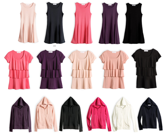 東京著衣,流行女裝,棉T,棉裙,外套