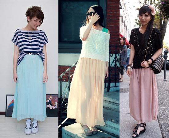 雪紡紗,長裙,紗裙,冰沙色,裙子