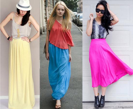 雪紡紗,長裙,紗裙,亮色,裙子