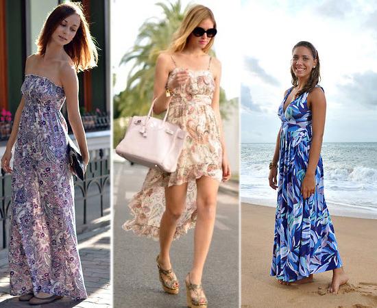 雪紡紗,洋裝,長洋裝,長裙,碎花