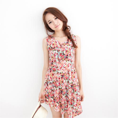 Joyce shop,碎花,印花,連身裙,洋裝