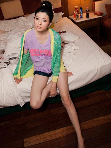 日系,螢光色,T恤,上衣,vivi