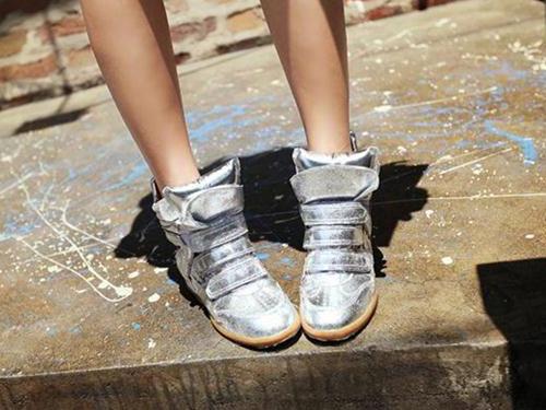 日系,金屬,銀色,vivi,休閒鞋