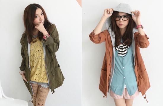 秋裝,外套,軍裝外套,風衣外套,長版外套
