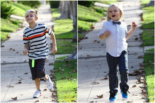 好萊塢名人小孩,時尚小孩,名人小孩穿搭,Gwen Stefani