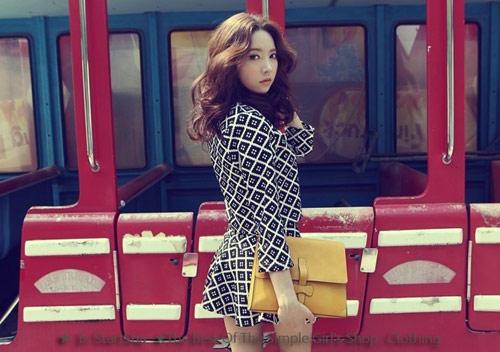 ★StartSha★韓國復古甜美撞色菱格子花紋上衣+短裙2件式套裝