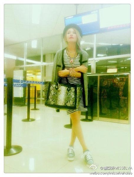 蕭亞軒穿搭技巧和時尚品味是大家公認的時尚女王