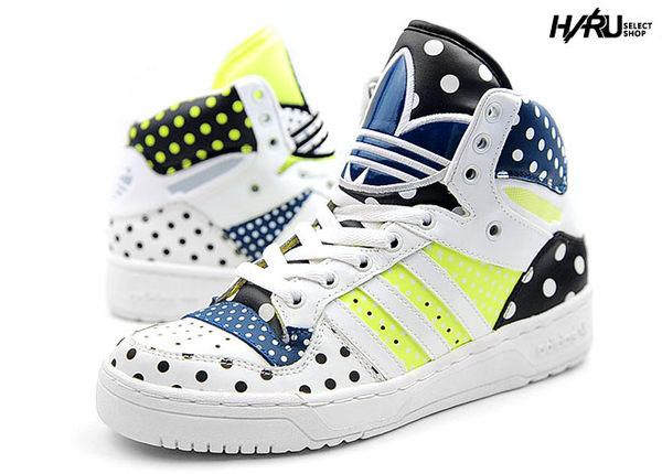 Adidas Originals 點點亮皮運動女鞋