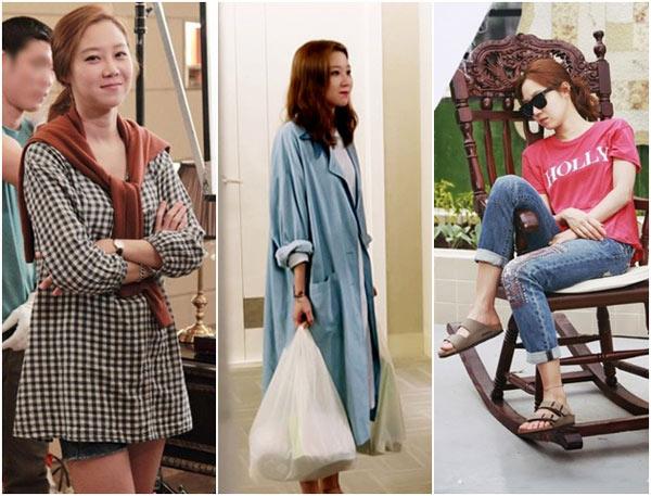 主君的太陽,韓星時尚,孔曉振,韓國時尚明星,韓國女星穿搭,完售女