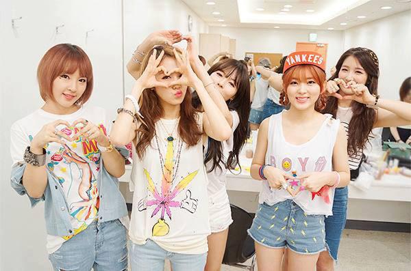 ▲南韓女子團體4Minute「丹寧風」最佳示範。(圖/擷自4Minute南韓官方粉絲團)